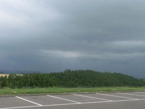 天気が怪しくなってきた