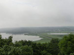 サルボ展望台からの眺め