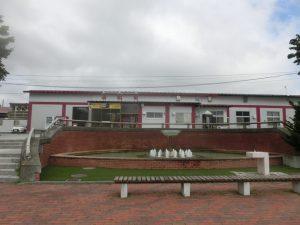 池田駅の前