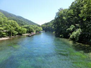千歳川の始まる場所