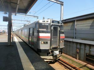 電車に乗る