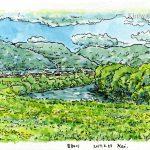 空知川の河川敷